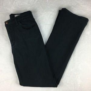 NYDJ Black Jeans with Jeweled Pockets Size 6